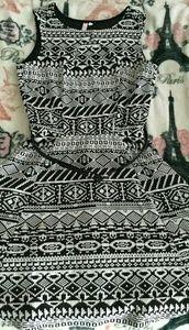 Pattern sleeveless dress! !!